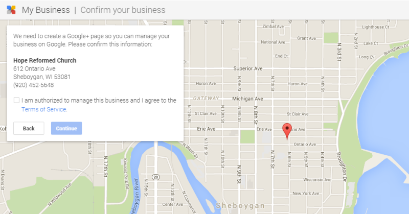confirm-church-google-my-business