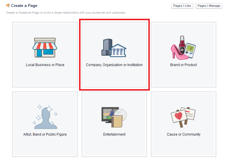 facebook-organization-business-page