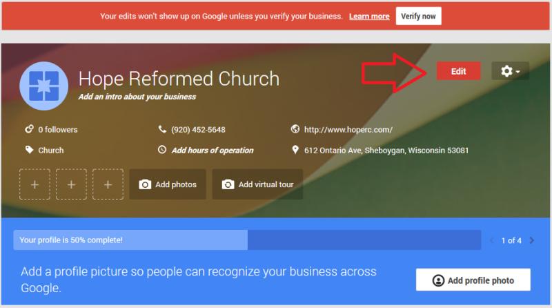 edit-church-google-local-page