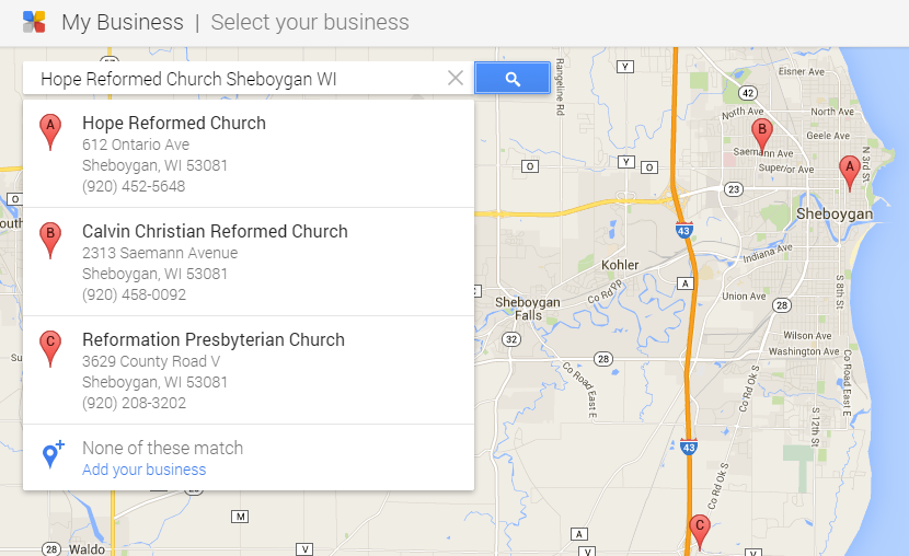 find-business-on-google-by-church-name